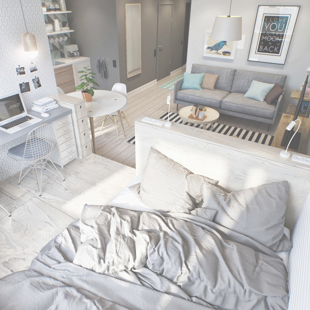 Amazing 10 Efficiency Apartments That Stand Out For All The Good Reasons with regard to Lovely Small Apartment Bedroom