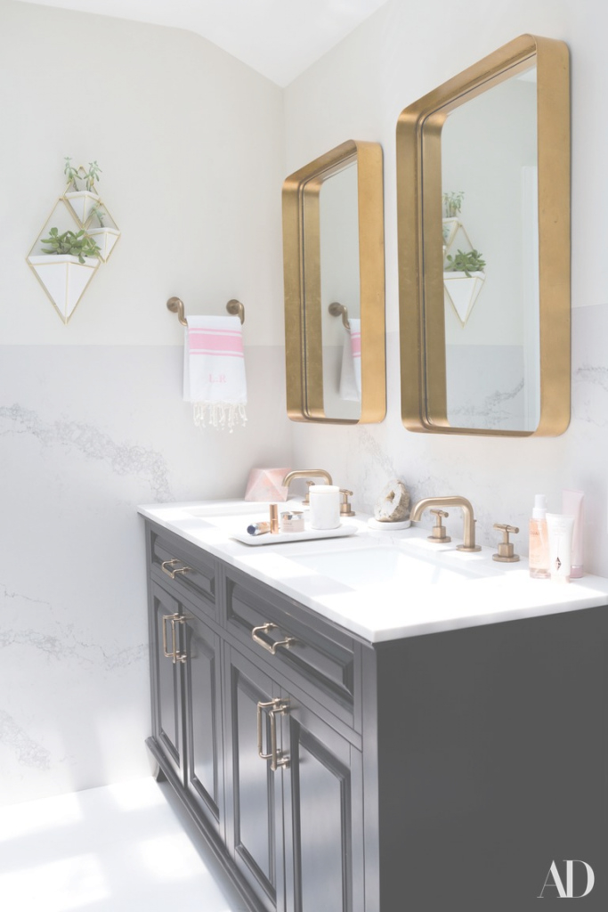 Amazing 12 Bathroom Mirror Ideas For Every Style | Architectural Digest within High Quality Master Bathroom Mirrors