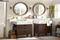 Amazing 20 Inspirational Farmhouse Sink Bathroom Vanity | Bathroom Pictures throughout Farmhouse Sink In Bathroom