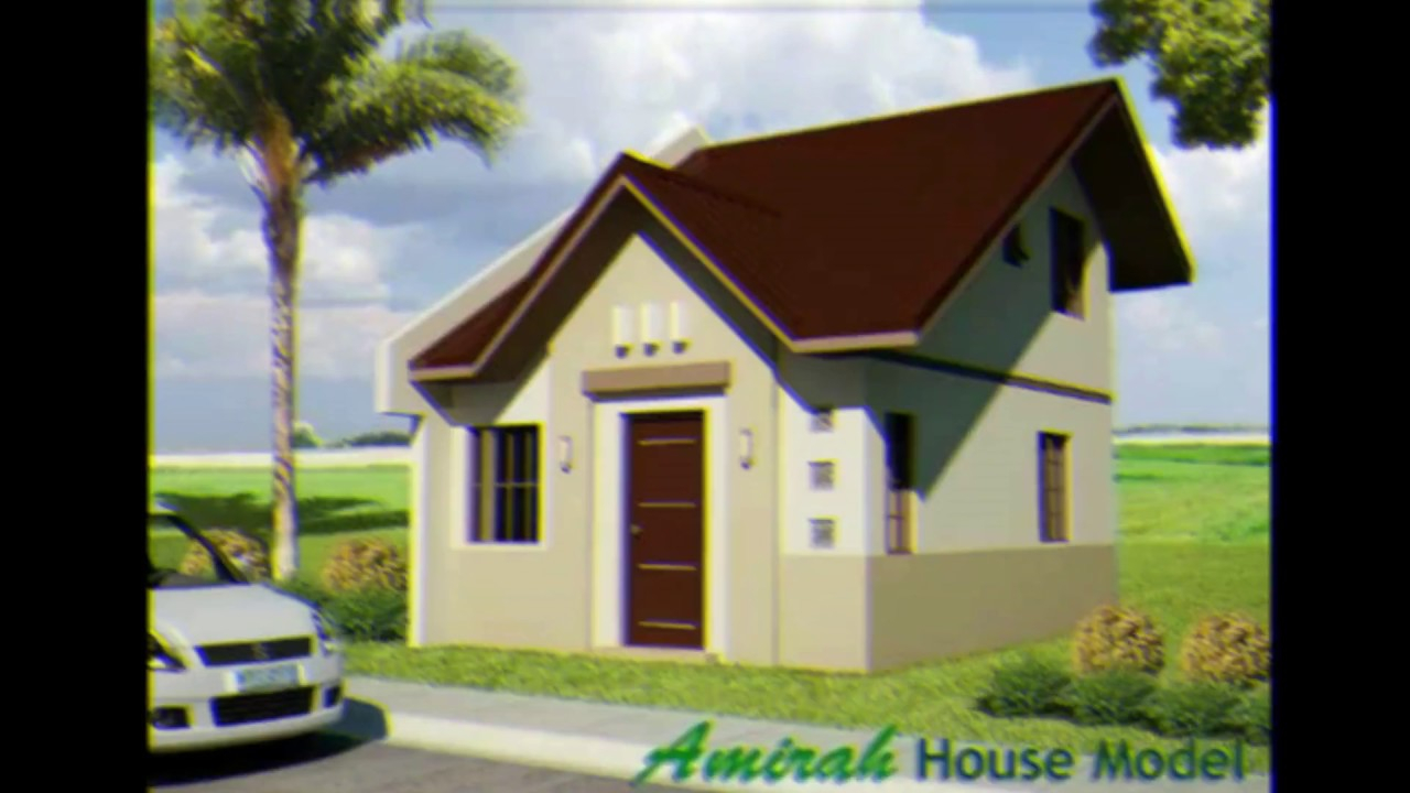 Amazing 25 Photos Of Small Beautiful And Cute Bungalow House - Youtube with Small Bungalow
