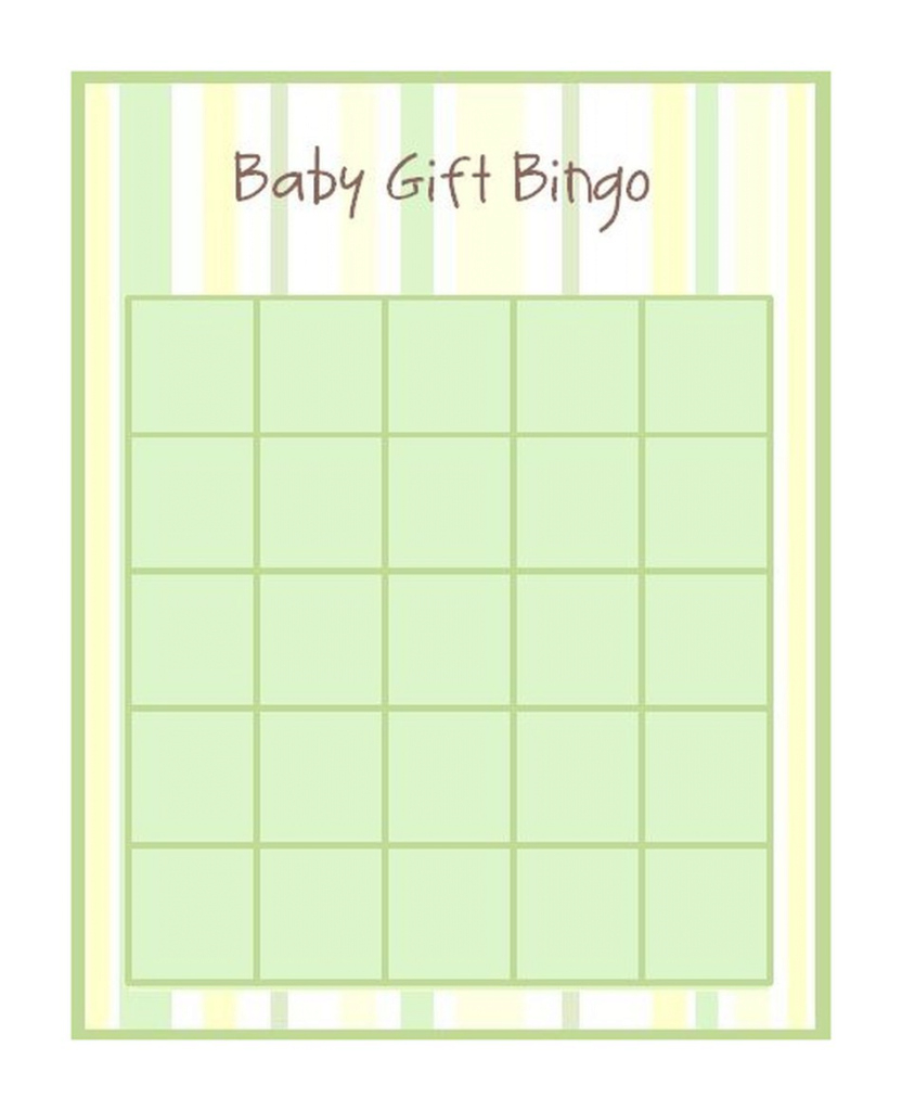Amazing 29 Sets Of Free Baby Shower Bingo Cards within Free Baby Shower Bingo