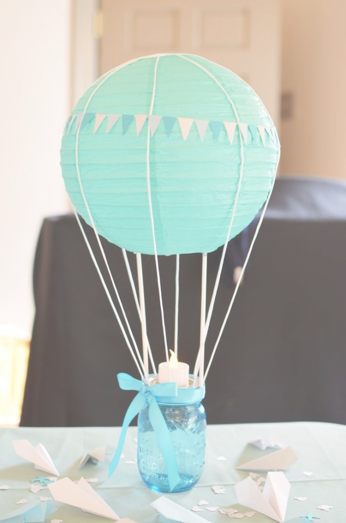 Amazing 3 Centros De Mesa Para Baby Shower De Niño - Baby Shower Perfecto inside Mesa Para Baby Shower