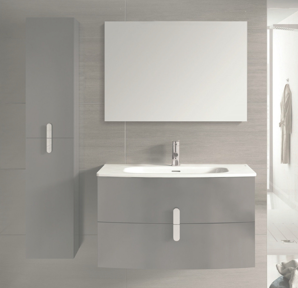 Amazing 39 Inch Modern Wall Mount Bathroom Vanity Grey Finish throughout Inspirational Wall Mount Bathroom Vanity