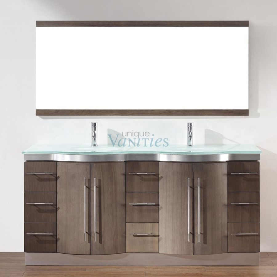 Amazing 48 Inch Double Sink Bathroom Vanity Unique Gray Leatherette Chair in Bathroom Vanities Double Sink 72