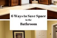 Amazing 6 Space Savers For Small Bathrooms | Space Saving Bathroom Ideas throughout Unique Bathroom Space Saver Ideas