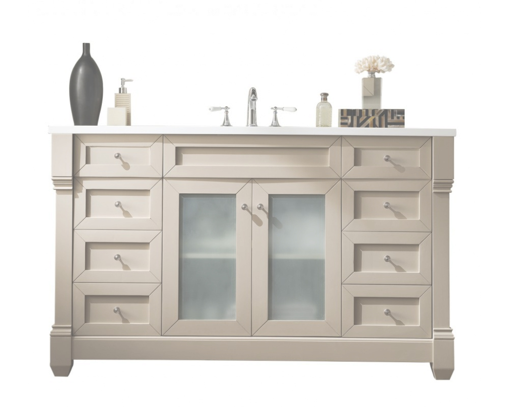 Amazing 60 Bathroom Vanity Single Sink Chic Lovely 47 In Modern Sofa - Espan for Bathroom Vanity 60 Single Sink