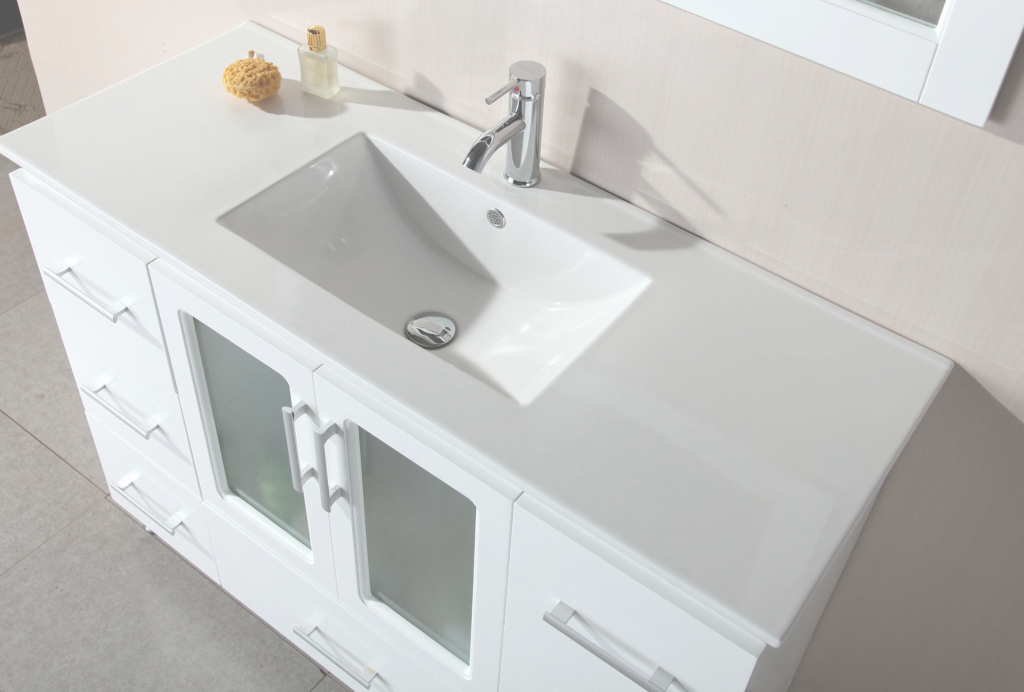 Amazing 60 Inch Bathroom Vanity Top - Vanity Ideas with Lovely White Bathroom Vanity With Top