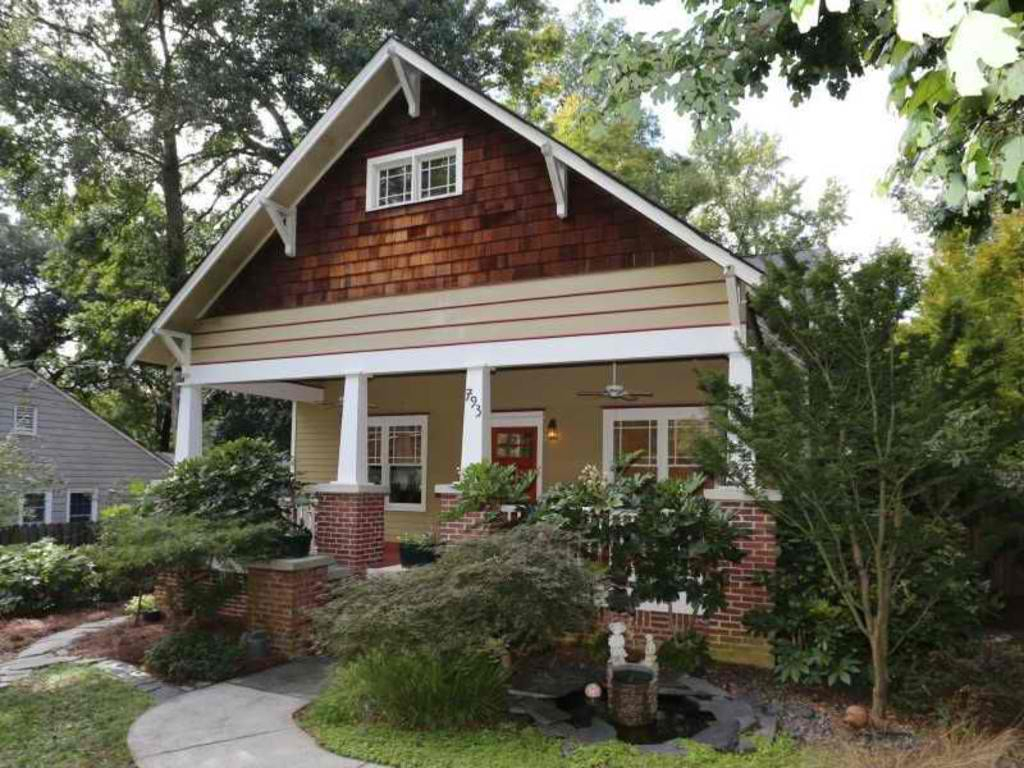 Amazing A Cozy Craftsman Bungalow Home In Atlanta, Georgia - Vancouver pertaining to Bungalow Atlanta