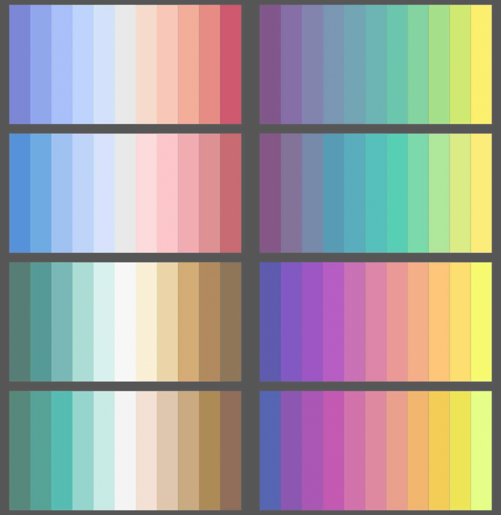 Amazing A Good For Divergent S In R Or Python High Contrast Color Palette pertaining to Color Palette R