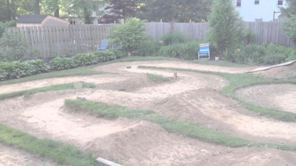 Amazing A-Great-Backyard-Rc-Track-With-B (1280×720) | Rc Hobbie | Pinterest intended for Backyard Rc Track Ideas