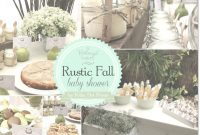 Amazing A Rustic Fall Baby Shower With A Perfect Pair Theme in Fall Baby Shower
