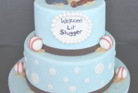 Amazing Baby Shower Cakes: Baby Shower Cakes Baseball Theme with Fresh Baseball Baby Shower Cakes