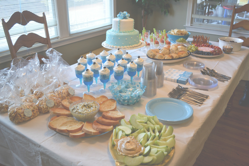 Amazing Baby Shower Food Ideas For Boys | Baby Shower Ideas Gallery with regard to Food Ideas For Baby Shower
