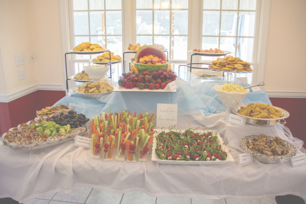 Amazing Baby Shower Food Table Ideas | Omega-Center - Ideas For Baby intended for Beautiful Baby Shower Food