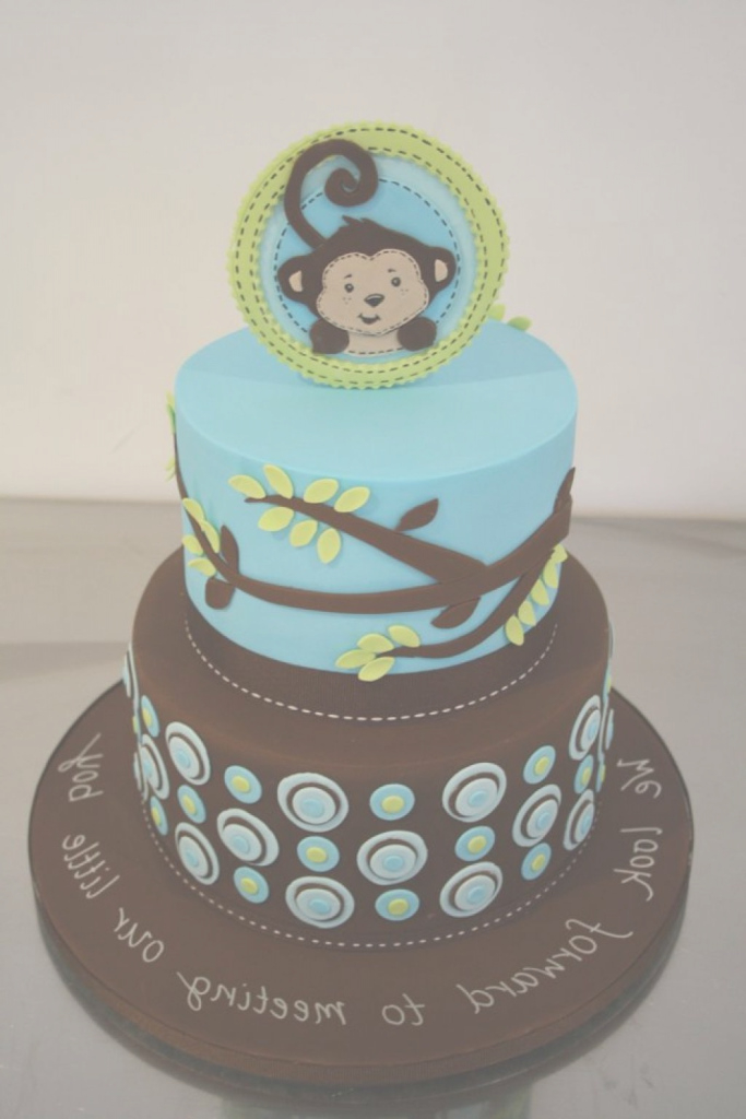 Amazing Baby Shower Monkey Cakes - Baby Shower Ideas within Lovely Baby Shower Monkey Cakes