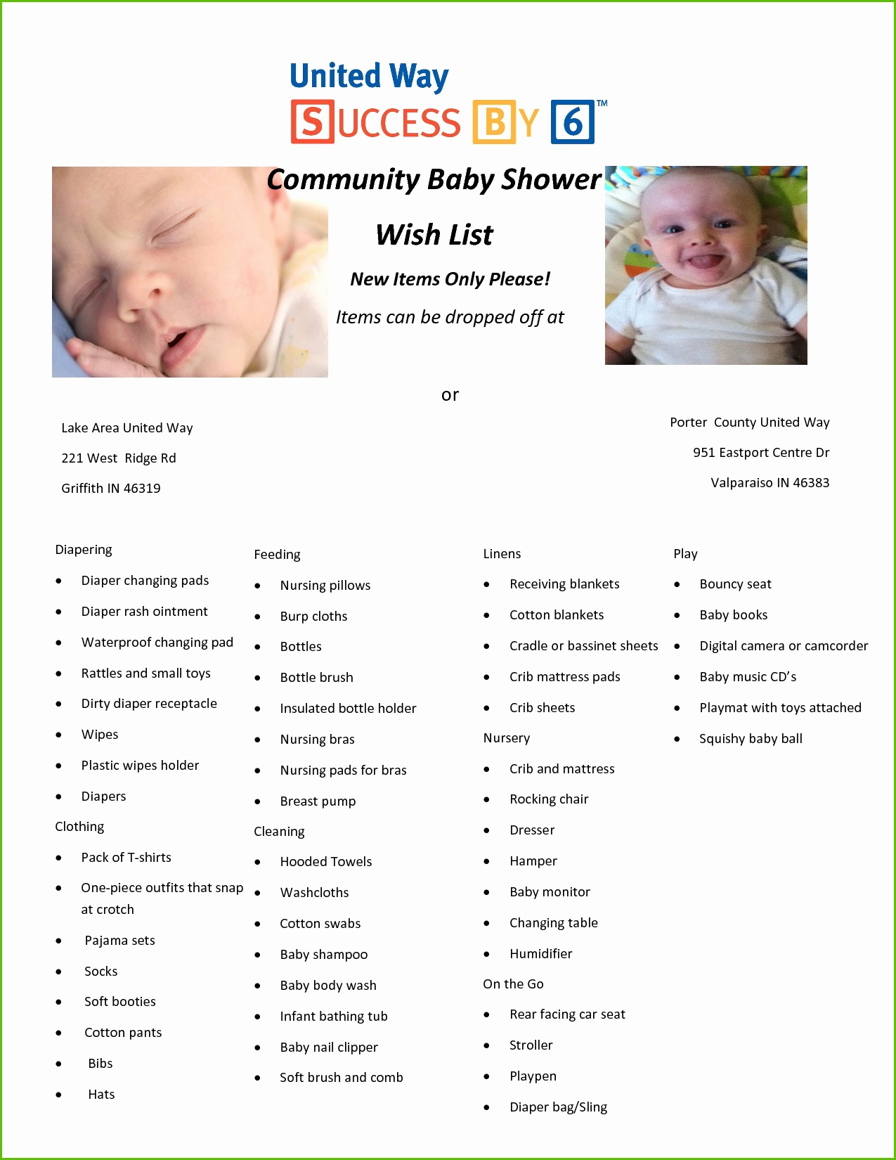 Amazing Baby Shower Wish List Fresh Baby Shower Wish List Template 28 Images within Inspirational Baby Shower List