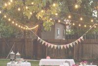 Amazing Backyard Birthday Fun–Pink Hydrangeas + Polka Dot Napkins inside Backyard Party