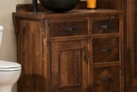 Amazing Barnwood Bathroom Vanities And Barnwood Bathroom Accessories pertaining to Barnwood Bathroom Vanity