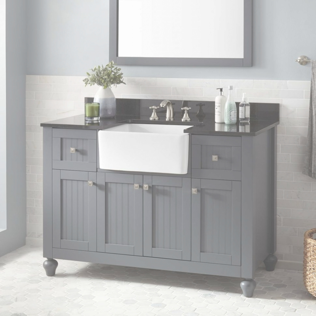 Amazing Bathroom : Bathroom Astounding Farmhouse Apron Sink • Farmhouse Sink with regard to Set Apron Sink Bathroom Vanity