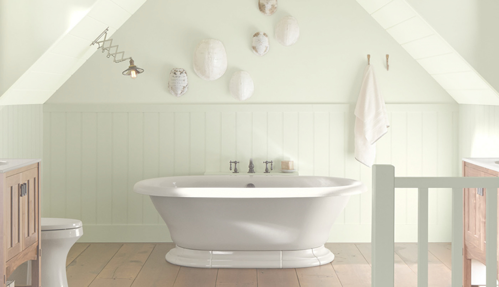 Amazing Bathroom Color Ideas & Inspiration | Benjamin Moore regarding Awesome Bathroom Paint Color Ideas