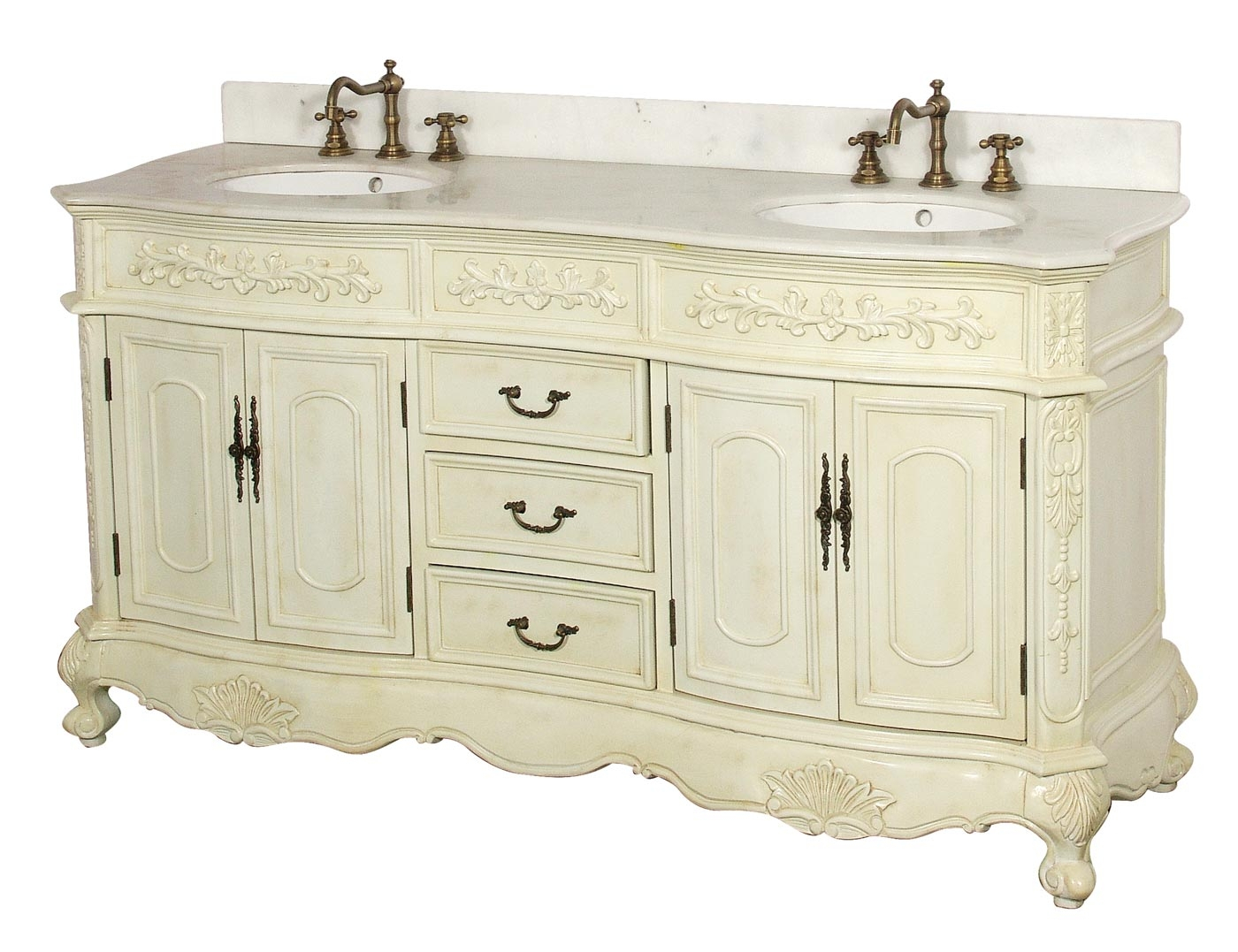 Amazing Bathroom : Exciting Vintage Bathroom Vanity Sink Cabinets Vintage within Antique Bathroom Sinks