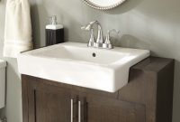Amazing Bathroom : Farmhouse Sink Bathroom Elegant Fancy Sinks Home Drop with New Farmhouse Sink In Bathroom