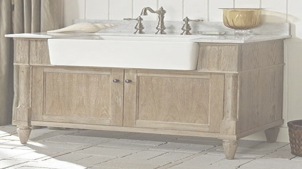 Amazing Bathroom : Industrial Bath Vanity Bathroom Toronto Farmhouse Sink with regard to Set Apron Sink Bathroom Vanity