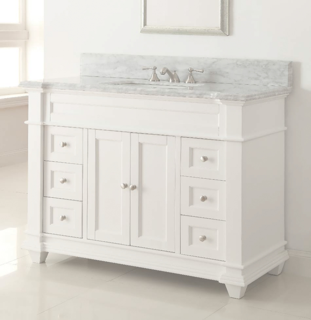 Amazing Bathroom Vanity : Custom Bathroom Vanity Tops 60 Inch Vanity Top throughout 48 Inch Bathroom Vanity With Top