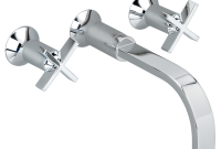 Amazing Berwick Wall-Mounted Bathroom Faucet – Cross Handles – American Standard intended for Bathroom Faucet Handles