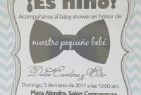 Amazing Best Invitaciones De Baby Shower Ni O 24 – Wyllieforgovernor in Good quality Invitaciones De Baby Shower Para Niño