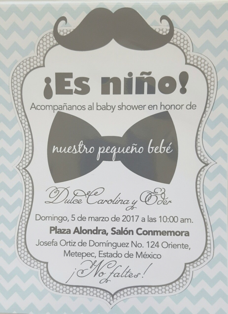 Amazing Best Invitaciones De Baby Shower Ni O 24 - Wyllieforgovernor in Good quality Invitaciones De Baby Shower Para Niño