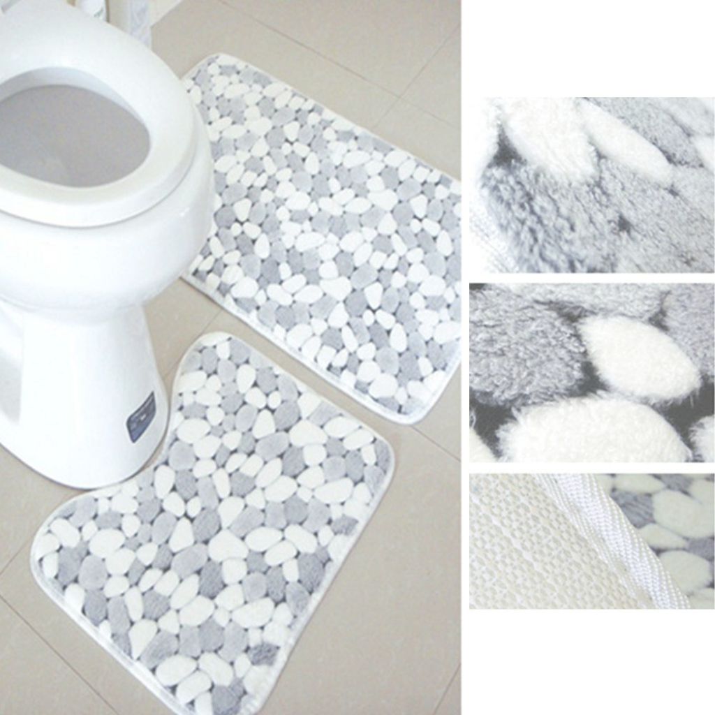 Amazing Best Wholesale Washable Stone Grain Bathroom Floor Mats Bath intended for Bathroom Floor Mat