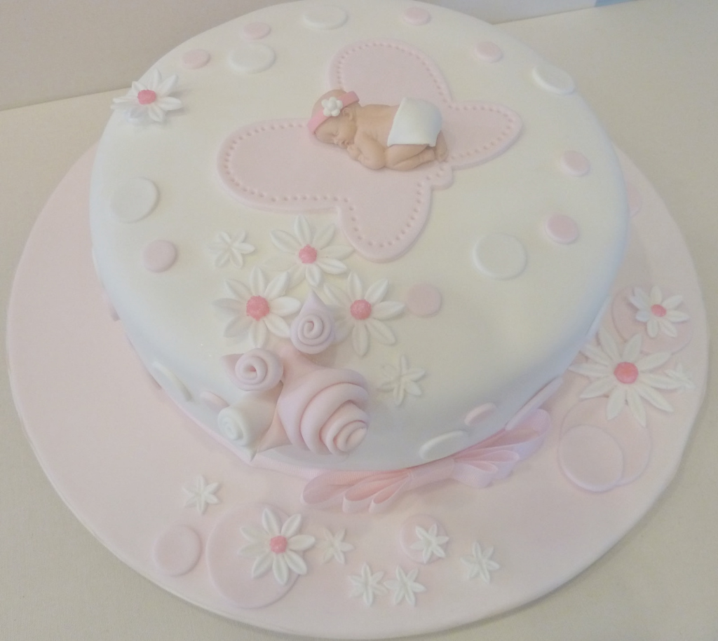 Amazing Bestest Horrible Baby Shower Cakes Cake It Easy Pink Baby Shower intended for How To Make A Baby Shower Cake