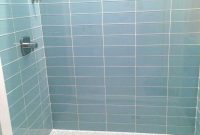 Amazing Blue Glass Tile Bathroom & Complete Ideas Example with regard to High Quality Blue Glass Tile Bathroom