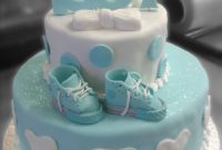 Amazing Boy Baby Shower Cake | Geneva Bakery with Review Baby Boy Shower Cakes