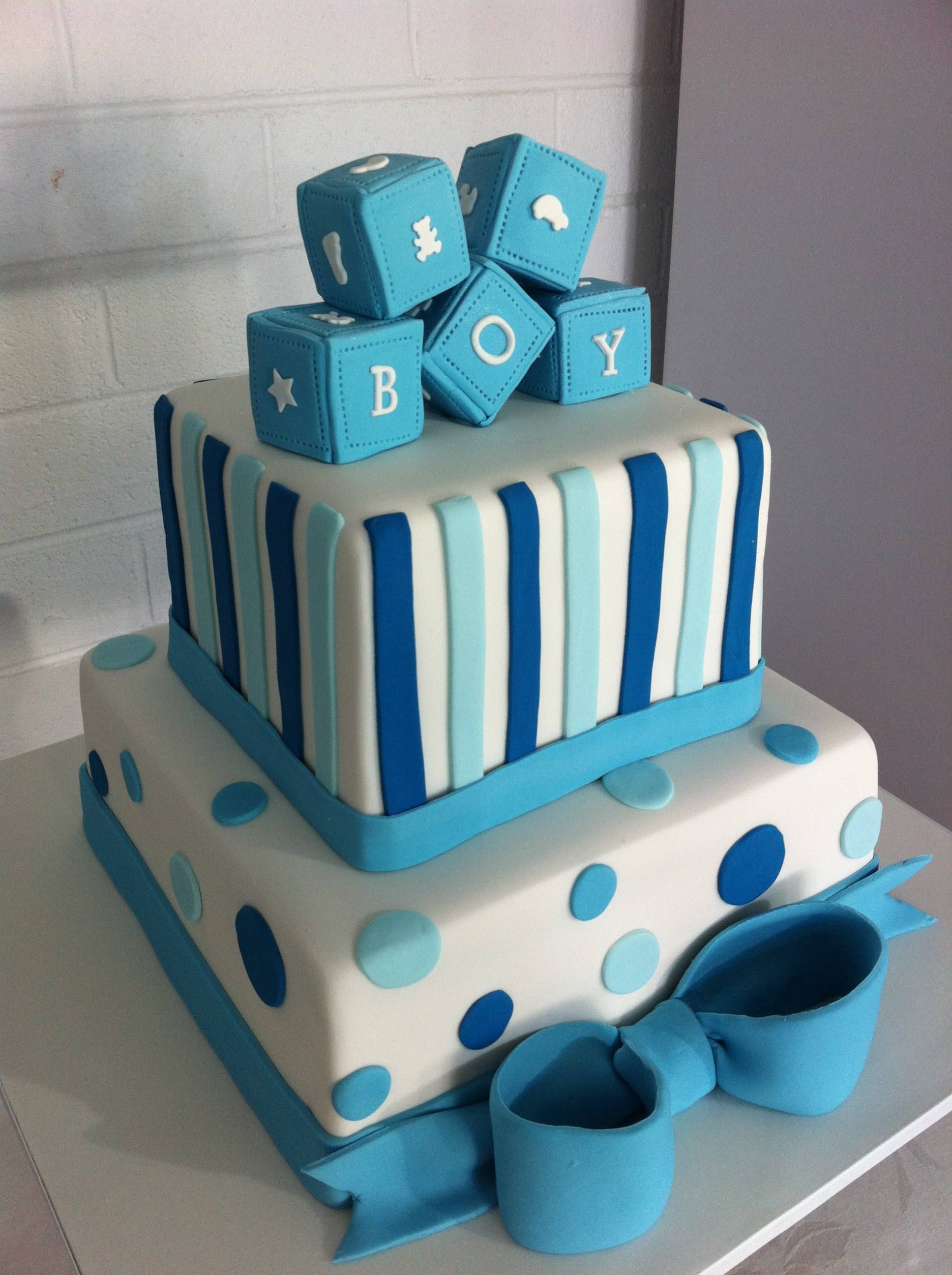 Amazing Boy Baby Shower Cakes | Cakesdesign Our New Creations Other regarding Baby Boy Shower Cakes
