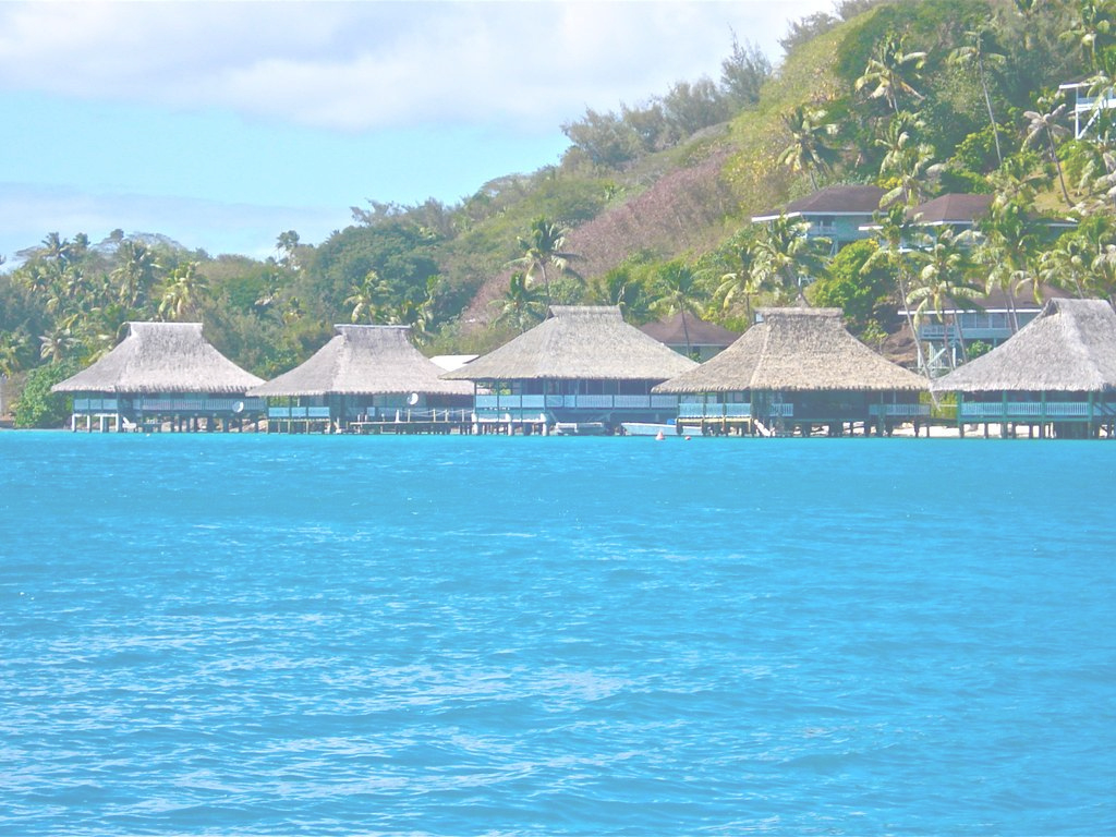 Amazing Bungalow One - Brando's World Famous Over W - Homeaway regarding High Quality Hawaii Overwater Bungalows