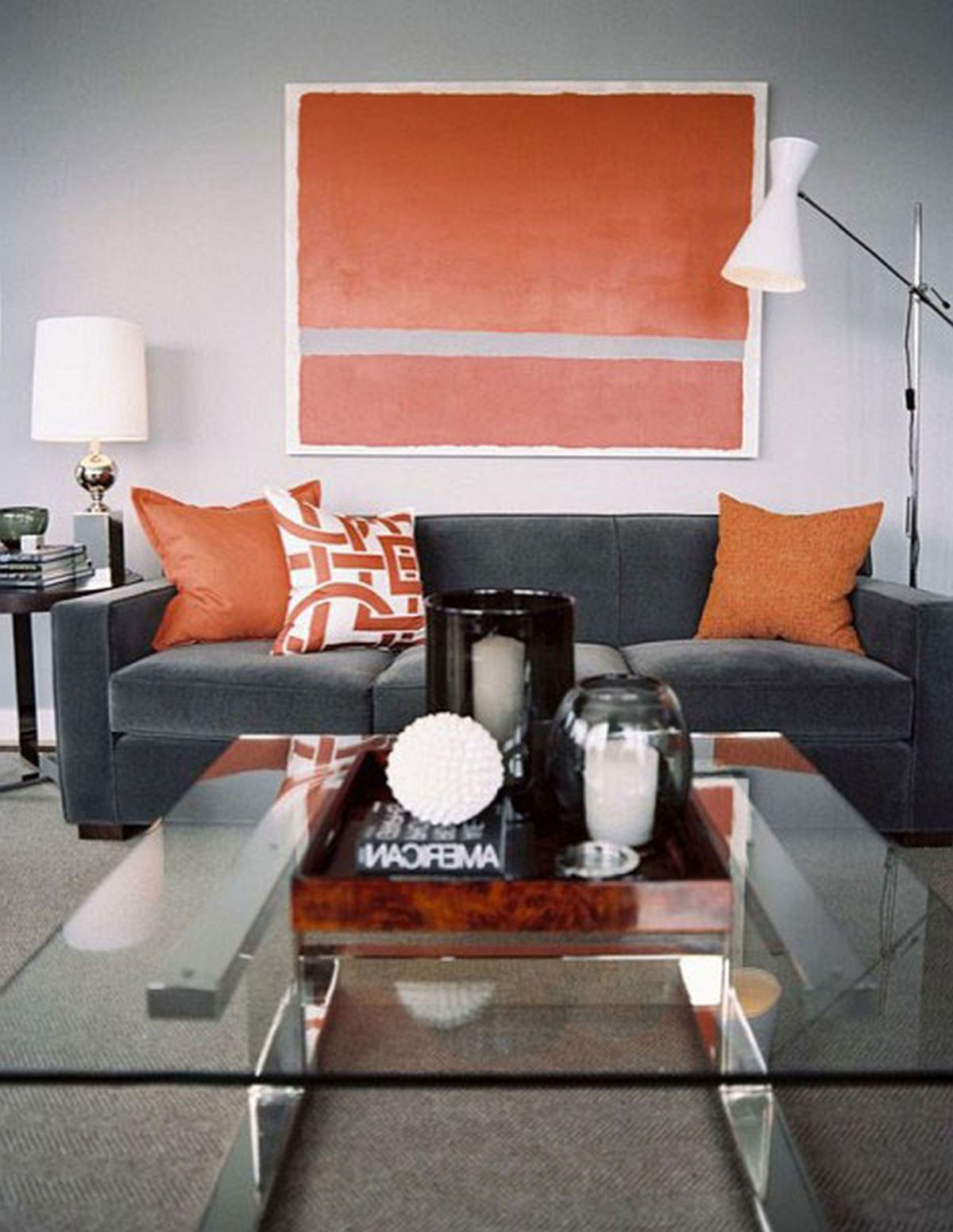 Amazing Burnt Orange Walls Living Room | Giau pertaining to Luxury Burnt Orange Living Room