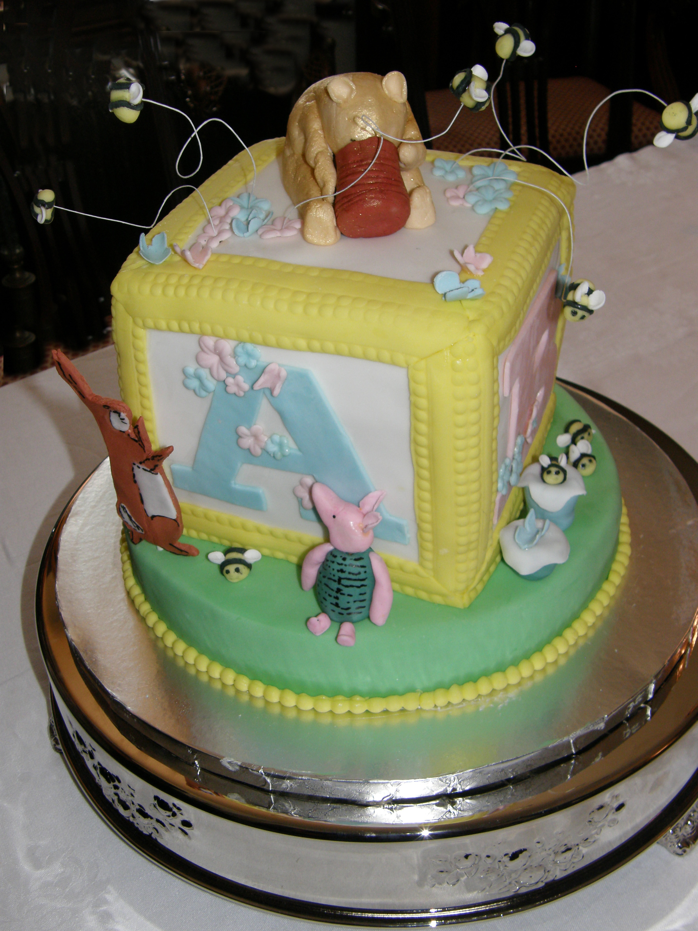 Amazing Cakescolby | Pittsburgh, Pa Celebration Cakes - Cakescolby throughout Winnie The Pooh Baby Shower Cakes