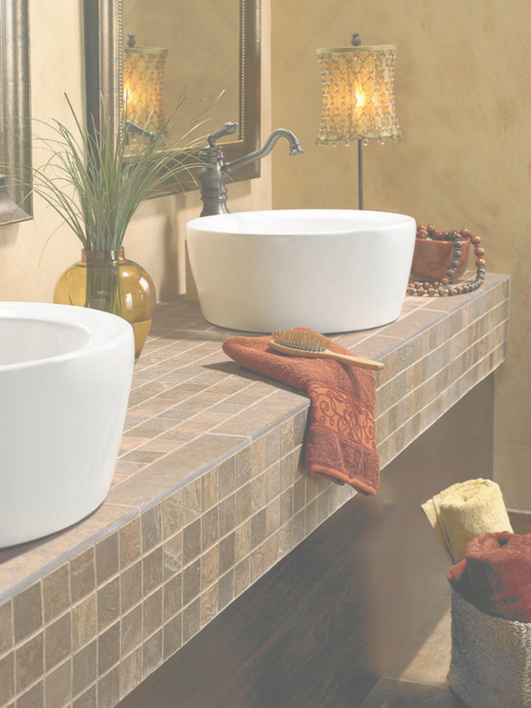 Amazing Choosing Bathroom Countertops Theydesign Within Bathroom Countertops regarding Bathroom Sinks And Countertops