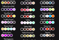 Amazing Color Palettes Galore ♡ — Raven's Color Scheme Challenge I've Been inside Awesome Color Palette Meme