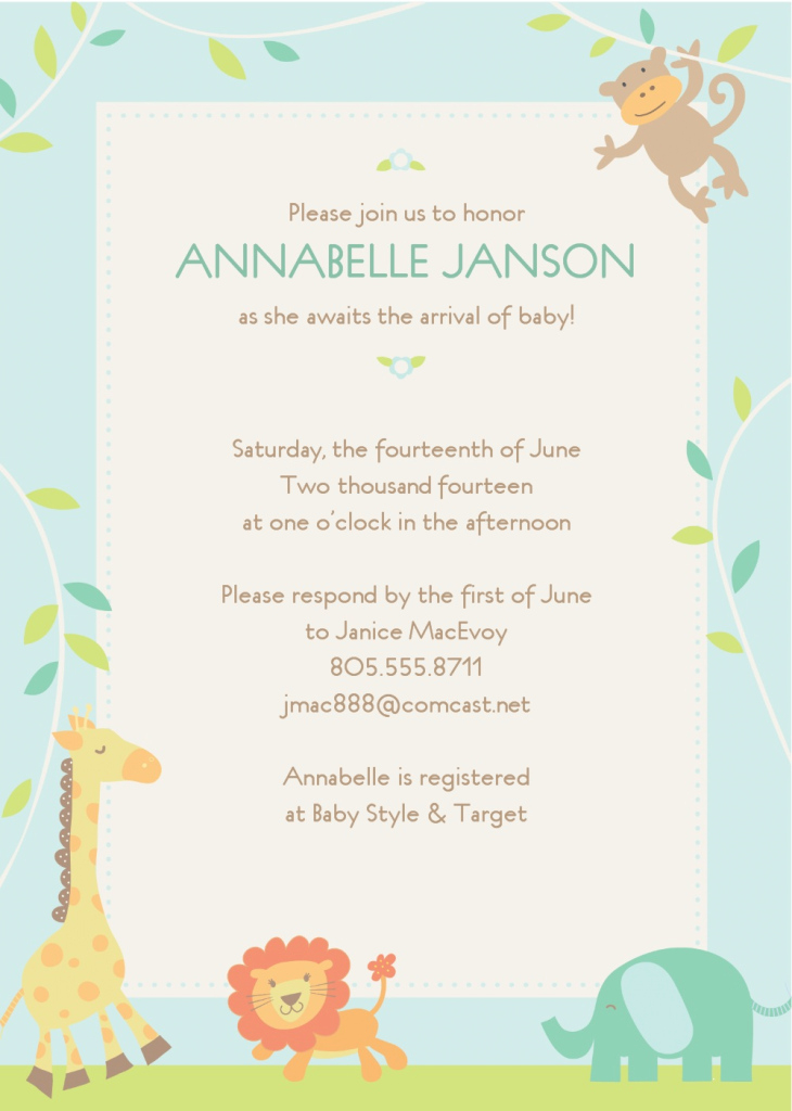 Amazing Colors : Free Baby Shower Invitation Templates Free Baby Shower pertaining to Awesome Baby Shower Templates Free