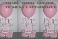 Amazing Como Hacer Centro De Mesa Babyshower Facil Y Economico – Youtube pertaining to Set Centros De Mesa Para Baby Shower Economicos