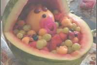 Amazing Congrats! It's A….watermelon? {Watermelon Baby Carriage} #babyshower throughout Watermelon Baby Shower