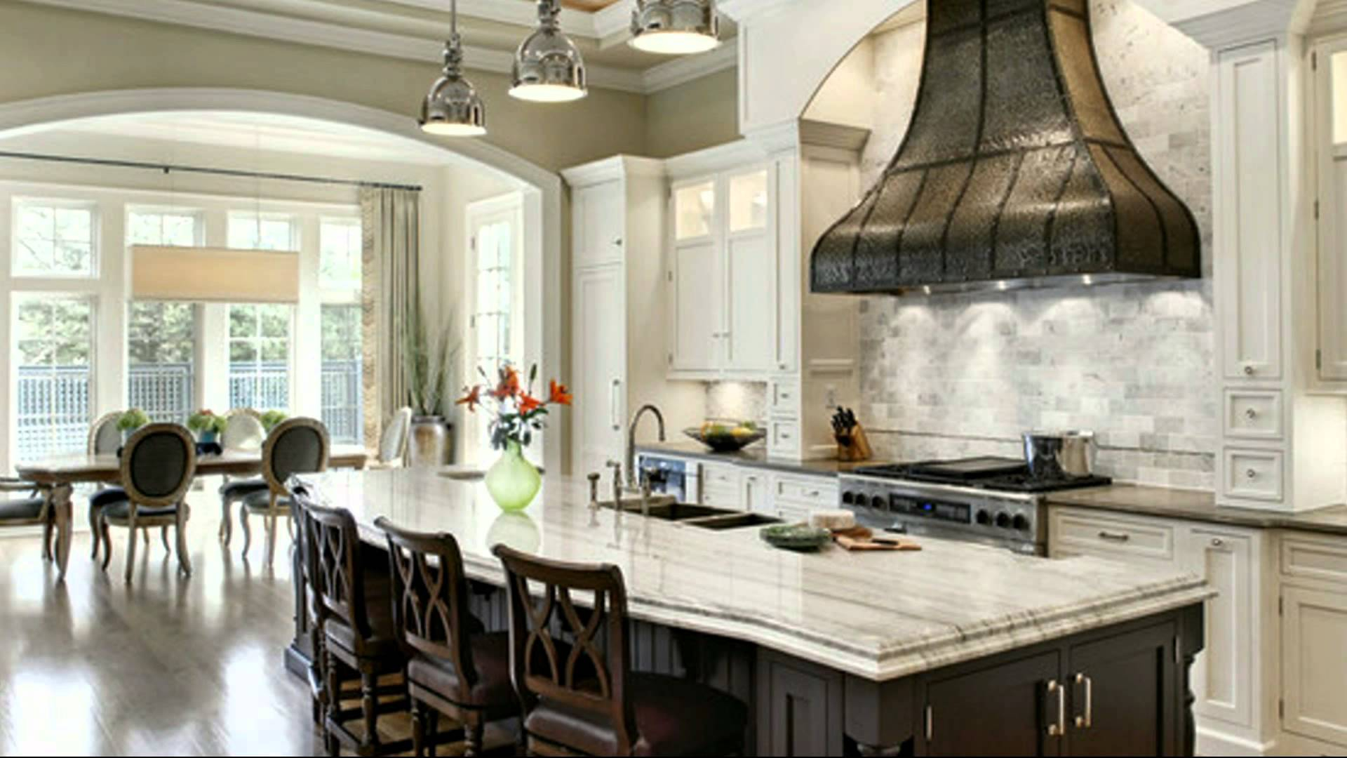 Amazing Cool Kitchen Island Ideas - Youtube regarding Kitchen Layouts With Island