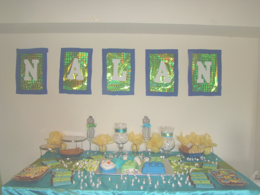Amazing Creative Spacez 4 U: Tori's Lego Baby Shower in Lego Baby Shower