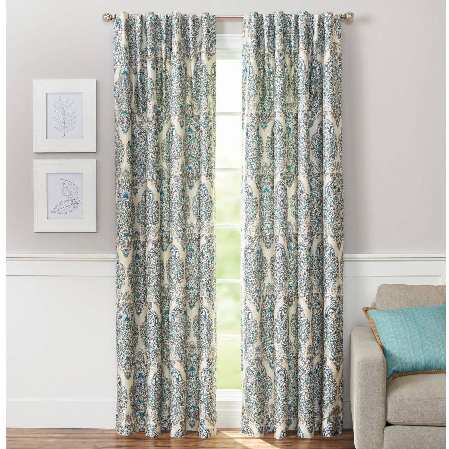 Amazing Curtain : Living Room Navy Blue Curtains Walmart Drapes Fearsome regarding Walmart Living Room Curtains