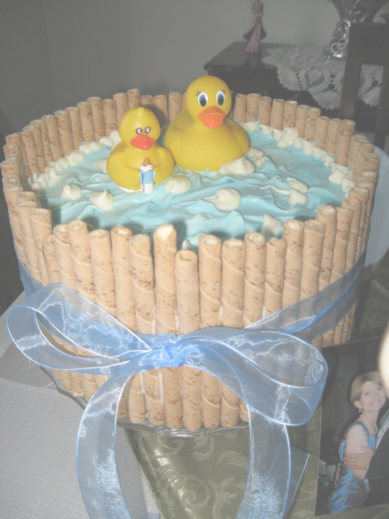 Amazing Cute Baby Shower Cake! For Boy Or Girl - Just Change The Ribbon pertaining to Boy Baby Shower Colors