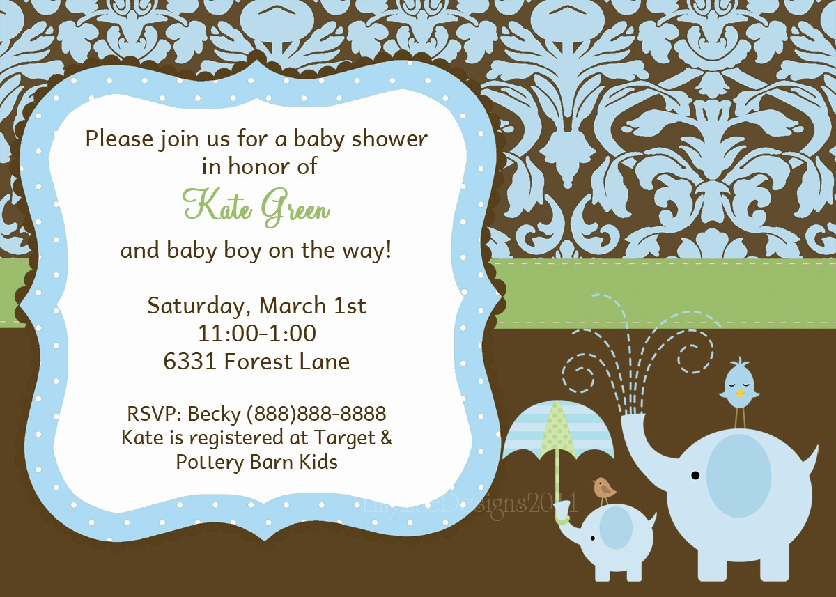Amazing Designs : Free Baby Boy Shower Invitation Design With Gray Awesome with regard to New Baby Boy Baby Shower Invitations