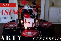 Amazing Diy | Casino Party Decoration Ideas | Casino Theme Party Centerpiece with Awesome Casino Theme Party Decorations